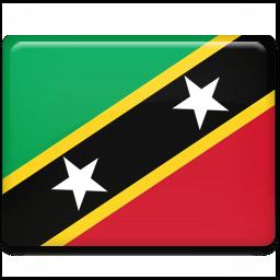 Saint Kitts And Nevis Sticker