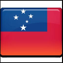 Samoa Flag Sticker