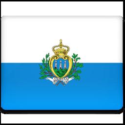 San Marino Flag Sticker