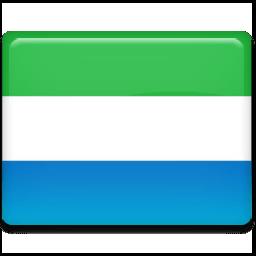 Sierra Leone Flag Sticker