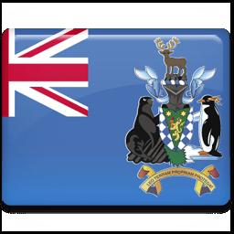 South Georgia Flag Sticker