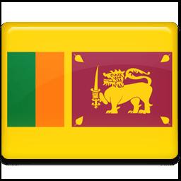 Sri Lanka Flag Sticker