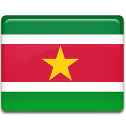 Suriname Flag Sticker