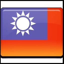 Taiwan Flag Sticker