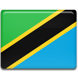 Tanzania Flag Sticker