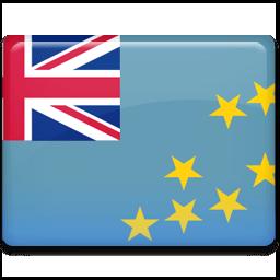 Tuvalu Flag Sticker