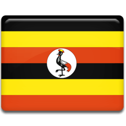 Uganda Flag Sticker
