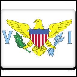 Virgin Islands Flag Sticker