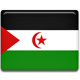 Western Sahara Sticker