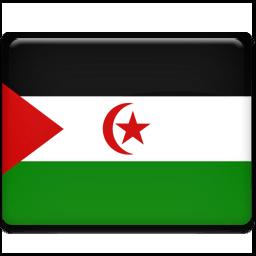 Western Sahara Sticker