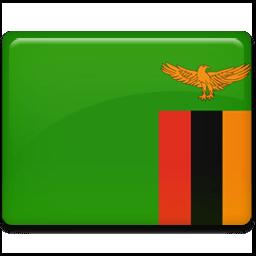 Zambia Flag Sticker