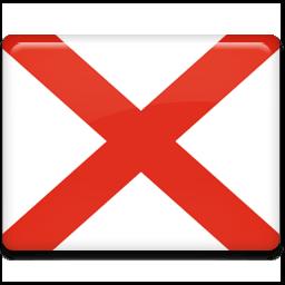 Alabama Flag Sticker