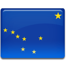 Alaska Flag Sticker