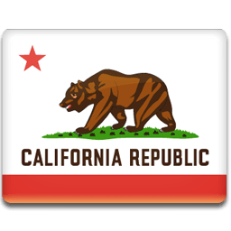 California Flag Sticker