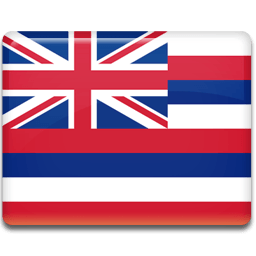 Hawaii Flag Sticker
