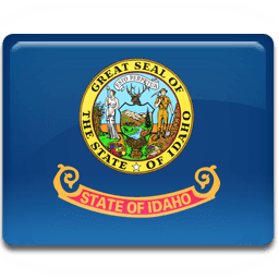 Idaho Flag Sticker