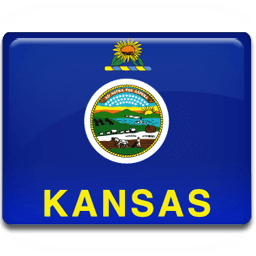 Kansas Flag Sticker