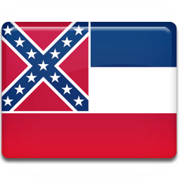 Mississippi Flag Sticker