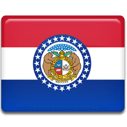 Missouri Flag Sticker