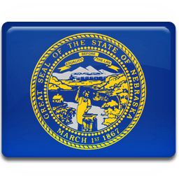 Nebraska Flag Sticker
