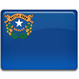 Nevada Flag Sticker