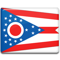 Ohio Flag Sticker
