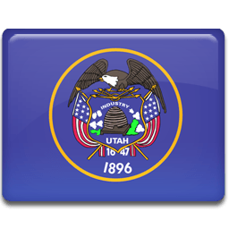 Utah Flag Sticker