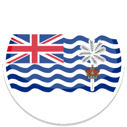 British Indian Ocean Territory Sticker
