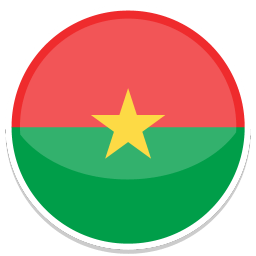 Burkina Faso Sticker