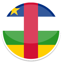 Central African Republic Sticker