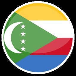 Comoros Sticker