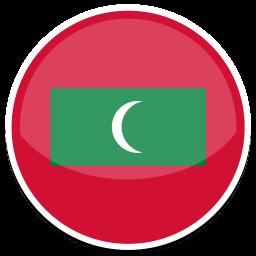 Maldives Sticker