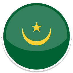 Mauritania Sticker