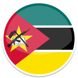 Mozambique Sticker