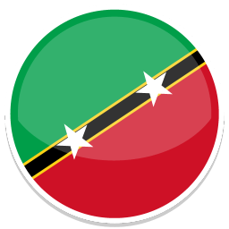 Saint Kitts And Nevis Sticker