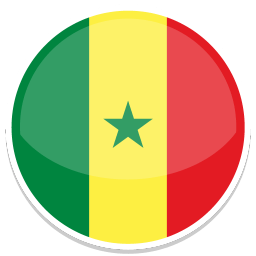 Senegal Sticker