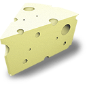 Swiss Cheese Sticker