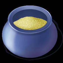 Sugar Bowl Filled Sticker