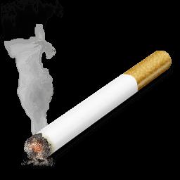 Cigarette Sticker