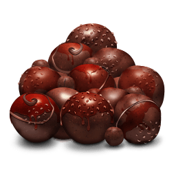 Choco Balls Sticker