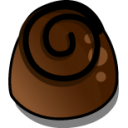 Chocolate 3 Sticker