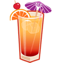 Tequila Sunrise Sticker