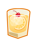 Whiskey Sour Sticker
