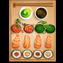 Sushi 1 Sticker