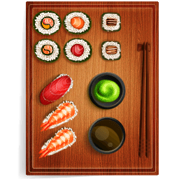 Sushi 3 Sticker