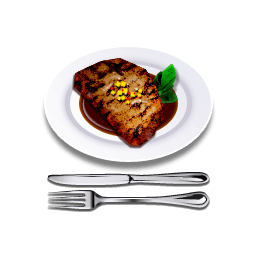 Steak Sticker