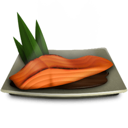 Salmon Teriyaki Sticker