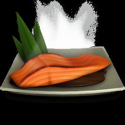 Salmon Teriyaki Sticker