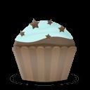 Cupcake Cake Stars Sticker