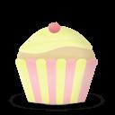 Cupcake Cake Vanilla Sticker